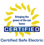 Certified Safe Electric, Inc. Logo
